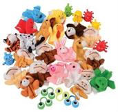 Finger Puppet Assortment/32-Pc (Include 1 Units)