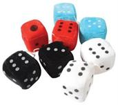 Large Plush Dice 3In (Include 12 Units)