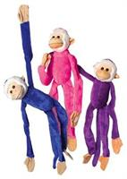 Jumbo Multicolor Monkeys (Include 12 Units)