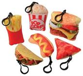 Fast Food Clip Plush (Include 12 Units)