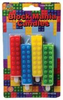 Block Mania Candles/4-Pc (Include 1 Units)