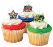 Superhero Candle Set/6-Pc (Include 6 Units)