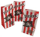 Pirate Paper Bags (Include 12 Units)