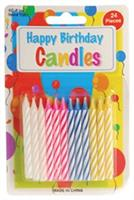 Birthday Candles/24-St (Include 12 Units)