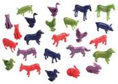 Farm Animals/24-Pc (Include 24 Units)